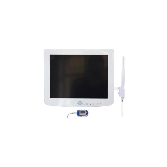 Camera intraorala cu monitor touch-screen si brat metalic